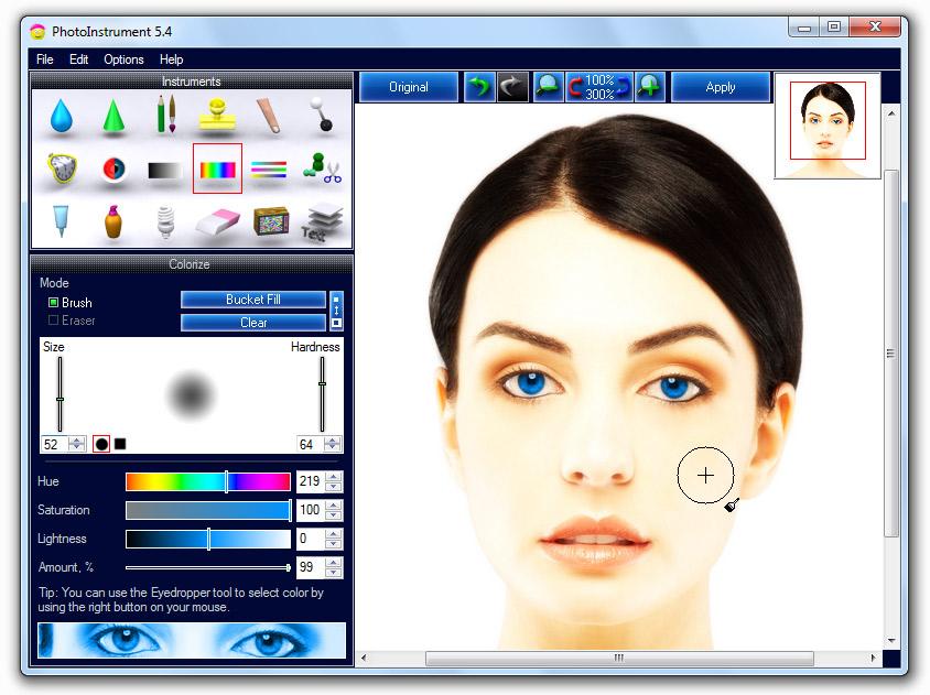 Click to View Full ScreenshotPhotoInstrument 5.4 screenshot